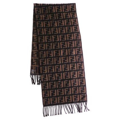 Fendi Large scarf with monogram