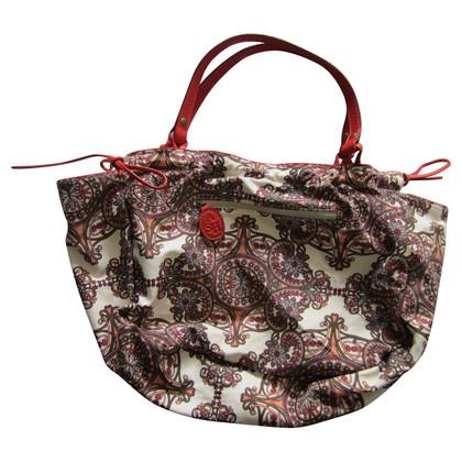 Ash Stoff und Leder Tasche
