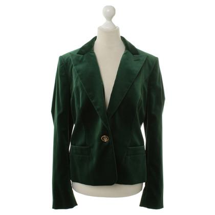 Aigner Green Velvet Blazer