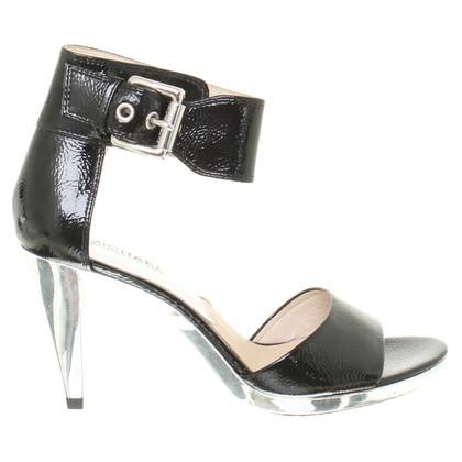 Michael Kors Lakleder sandalen