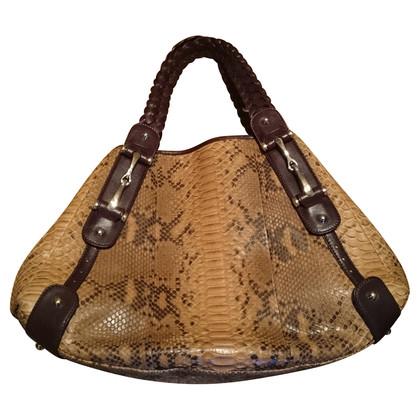 Gucci Python leather Hobo bag