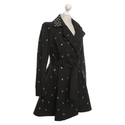 Red Valentino Coat in black