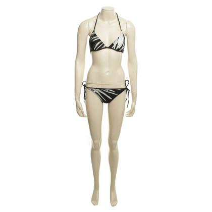 Hermès Bikini with graphic pattern