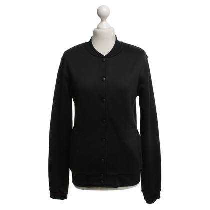 Karl Lagerfeld College jacket in zwart