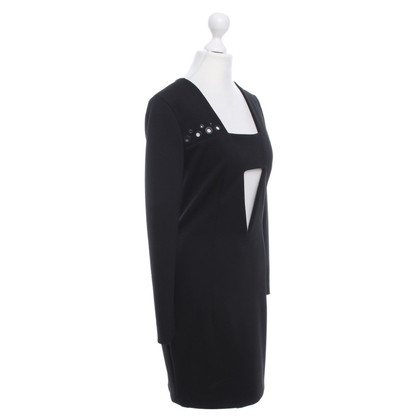 Anthony Vaccarello Kleid in Schwarz