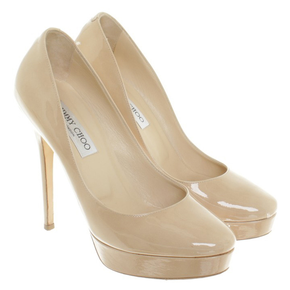 Jimmy Choo pumps patent leather