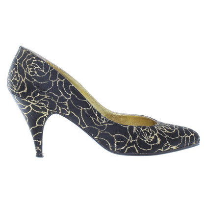Mugler Pumps aus Satin