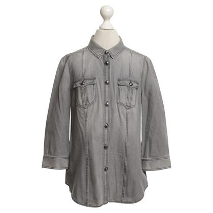 Burberry Bluse in Grau