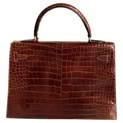 """Hermès """"Kelly Bag 32"""" krokodillenleer"""