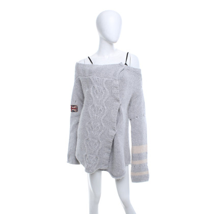Hunky Dory Cardigan in grigio