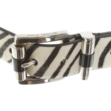 Michael Kors riem met animal print