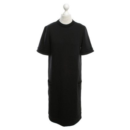 Jil Sander T-Shirtkleid in Schwarz