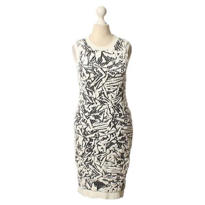 Balenciaga Kleid mit Jacquard-Muster