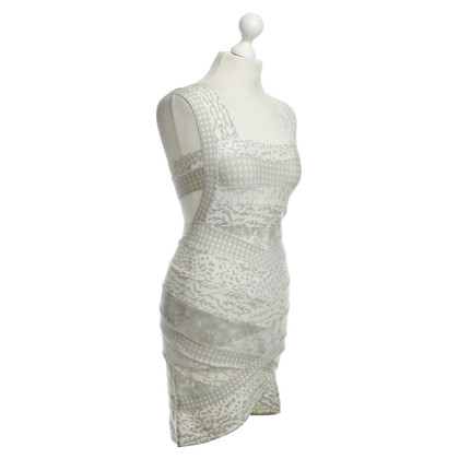 Herve Leger Bendaggio vestito con cut-out