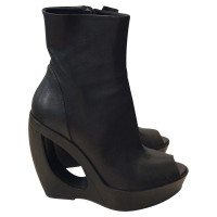 Ann Demeulemeester Boots in zwart