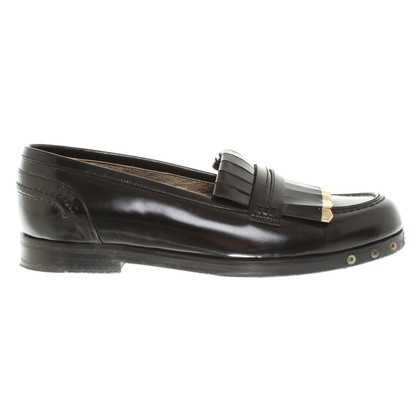 Lanvin Budapest Slipper in Black