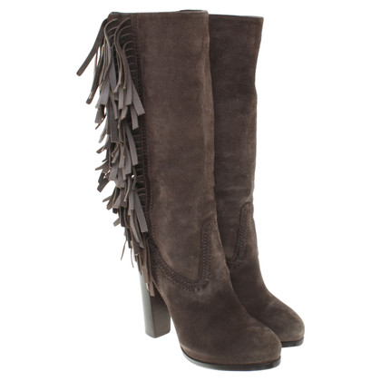 Santoni Boots with fringes