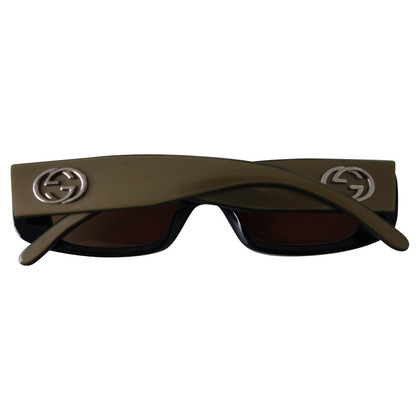 Gucci Gucci zonnebril Rechteckkig Green