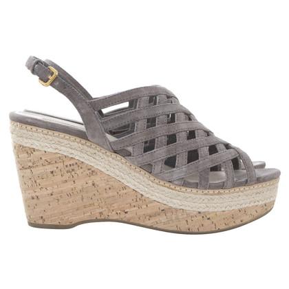 Prada Cork platform sandals