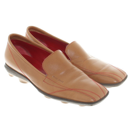 Miu Miu Loafers in Brown