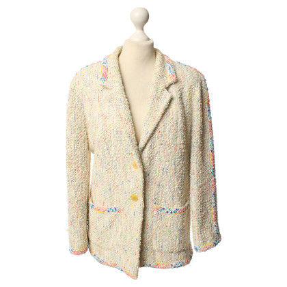 Chanel Blazer with coloured effect yarn