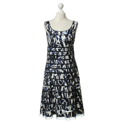 Oscar de la Renta Print summer dress