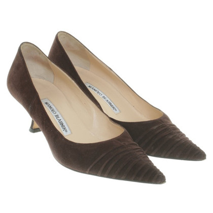 Manolo Blahnik pumps Brown