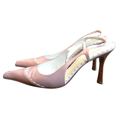 Chanel Slingbacks in pink