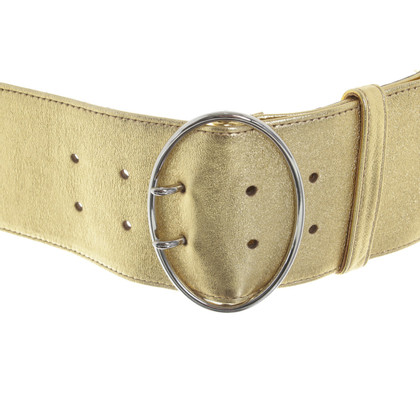 Prada Gold colored belt