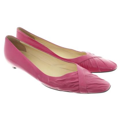 Helmut Lang Ballerinas with kitten heels