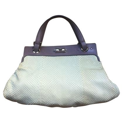 Chloé Python leather handbag