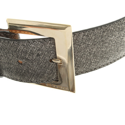 Etro riem met metaalcoating