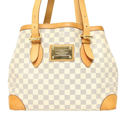 "Louis Vuitton ""Hampstead Damier Azur Canvas"""
