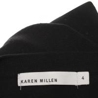Karen Millen Strickjacke in Schwarz/Weiß
