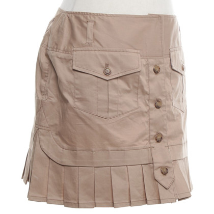 D&G Mini-skirt in safari style