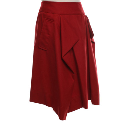 Vivienne Westwood Red wool skirt