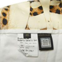 Roberto Cavalli Shorts mit Animal-Print