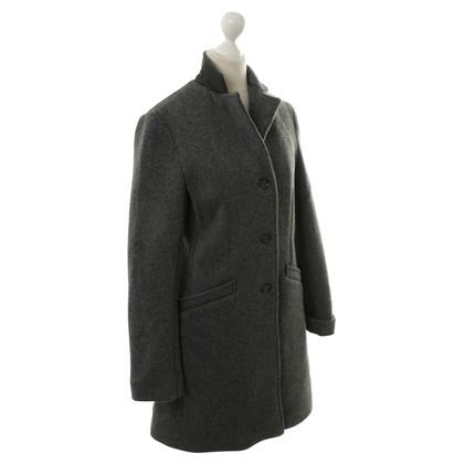 Woolrich Mantel in Grau