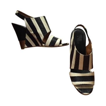 Chloé Sandaletten mit Keilabsatz