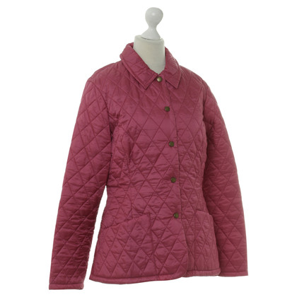 Barbour Steppjacke in Pink