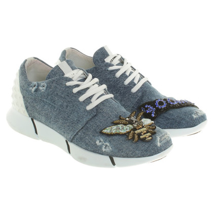 Other Designer Elenachi - sneakers in blue / white