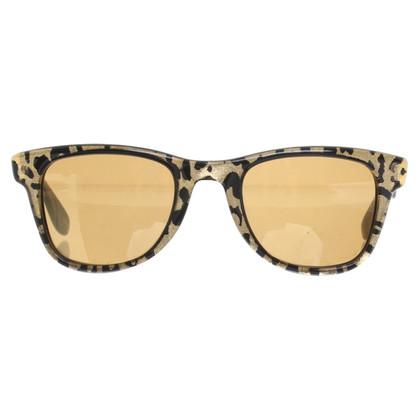 Jimmy Choo Sunglasses in gold / black