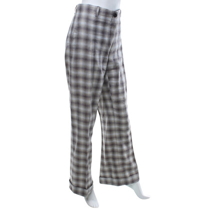 Wunderkind Pantaloni con plaid