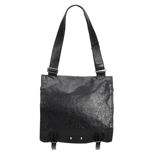 92e2dbba48 Balenciaga Shoulder bag Leather in Black - Second Hand Balenciaga ...