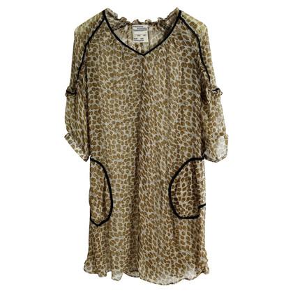 Baum und Pferdgarten printed silk dress