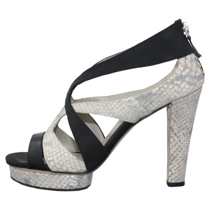 Armani Crocodile print sandal