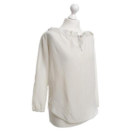 Comptoir des Cotonniers Blusa in seta beige