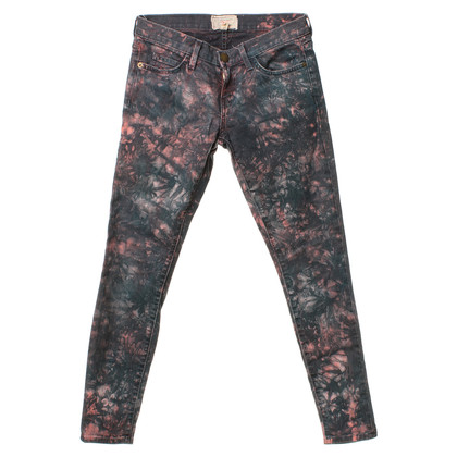 Current Elliott Jeans in the Batik style