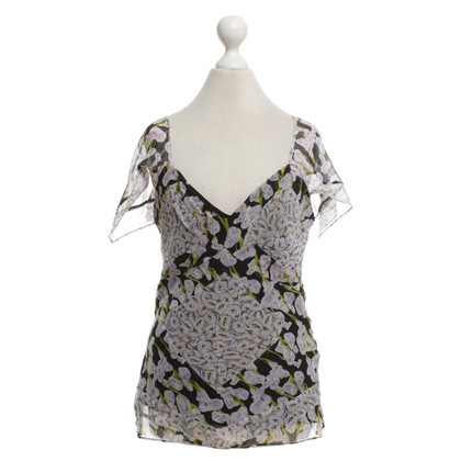 Diane von Furstenberg Top with floral print