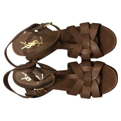 5283703c7907f Yves Saint Laurent Sandals (high) Second Hand  Yves Saint Laurent ...